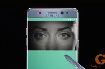 Как работает (настроить) сканер радужной оболочки на Samsung Galaxy Note 7