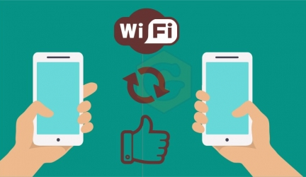 The fastest way to transfer files on Android smartphone using Wi-Fi