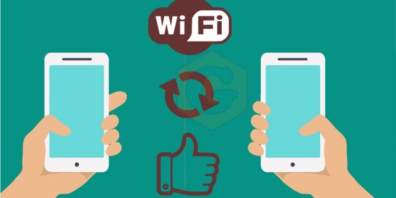 Как передавать файлы между Android-смартфонами по Wi-Fi?