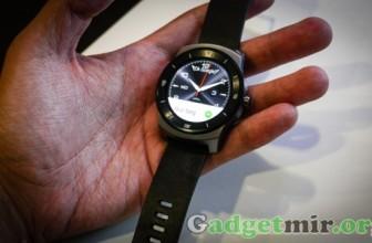 Супер-часы LG G Watch R скоро в продаже!