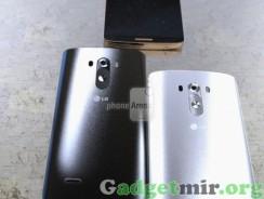 Цветовая гамма смартфона LG G3
