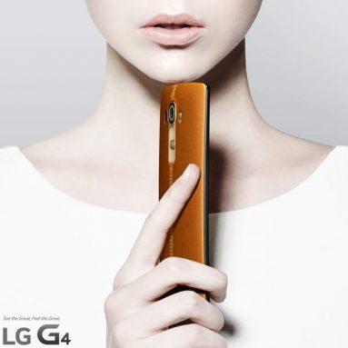 LG G4 получит заднюю крышку из кожи