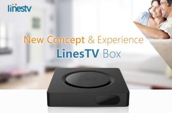 LinesTV: обзор четырехъядерной телевизионной Android-приставки