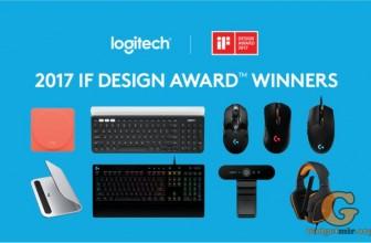 Logitech побила новый рекорд, за что получила 9 престижных наград iF DESIGN AWARDS 2017