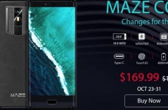 Хорошие скидки на ТВ-боксы, гаджеты от Xiaomi и смартфон MAZE Comet