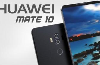 Компания Huawei показала изображение нового смартфона Mate 10