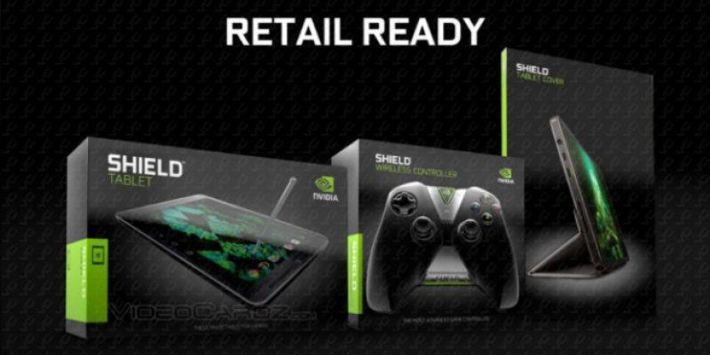 Новые слухи о планшете и контролере NVIDIA Shield
