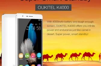 А вы слыхали о смартфоне OUKITEL K4000? Тогда читайте внимательно!