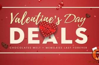 Огромные скидки ко дню Св. Валентина – самое время приобрести подарок!