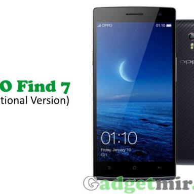 Oppo Find 7 (QHD) можно купить по предварительному заказу