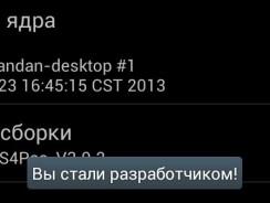 Как включить параметры разработчика на Android