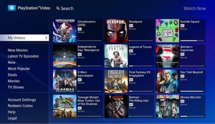 PlayStation Video расширяет свои границы для Android TV