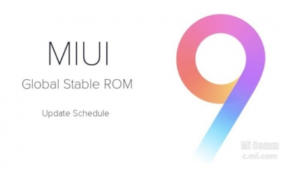 Полномасштабное обновление всех устройств Xiaomi к MIUI 9