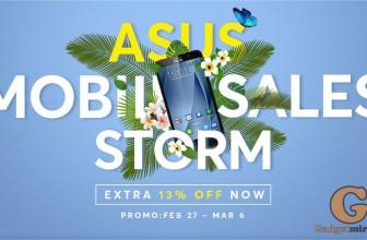Шторм скидок на смартфоны ASUS – только в магазине GearBest