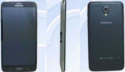 Гигантский 7-дюймовый планшет-смартфон от Samsung