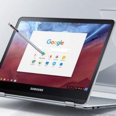 Samsung Chromebook Pro: 12,3-дюймовый 2К-экран, 360° петли и стилус