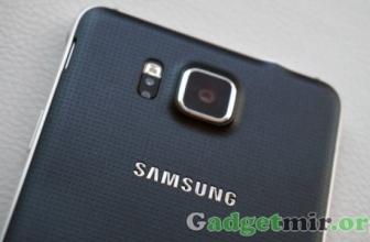 Galaxy Alpha — первый металлический смартфон от Samsung