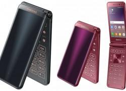Стартовали продажи смартфона-раскладушки Galaxy Folder 2