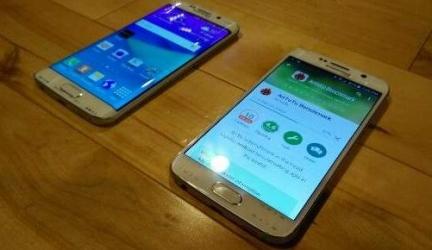 Реальные фото Samsung Galaxy S6 и S6 Edge
