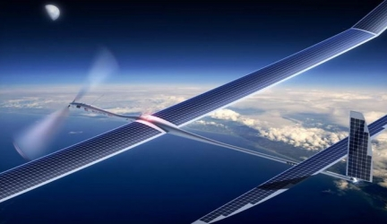 Google Project Skybender — безпилотник с 5G интернетом