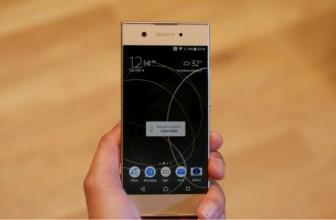 Появление Sony Xperia XA1 уже не за горами