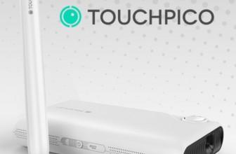 TouchPico – пико-проектор на Android, превратит любую поверхность в сенсорный экран
