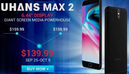 Снижение цены на UHANS Max 2 и ALLDOCUBE Freer X9
