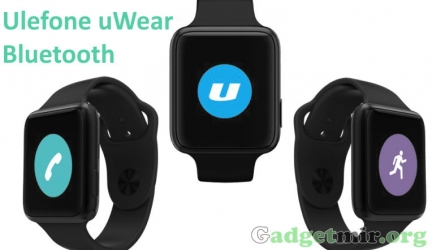 Смартчасы Ulefone uWear Bluetooth – особенности и характеристики [Обзор]