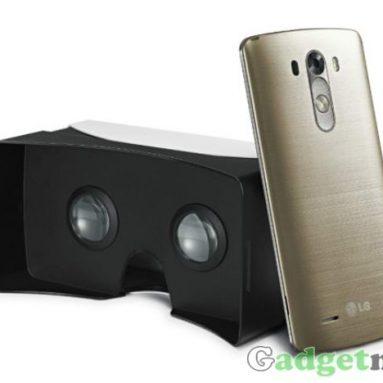 LG анонсировала Cardboard – гарнитура виртуальной реальности для G3