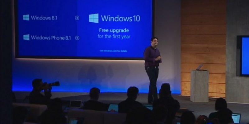 Windows 10: бесплатное обновление даже для пользователей Windows 7