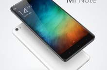 Xiaomi представила два устройства класса High-End: Mi Note и Mi Note Pro