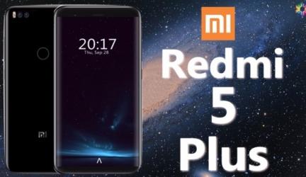 Xiaomi Redmi 5 Plus показался на рендерах