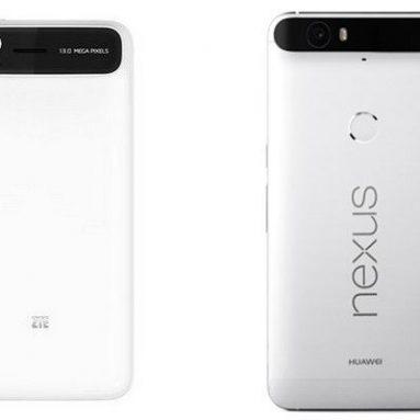 ZTE обвиняет Huawei в копировании дизайна на смартфоне Nexus 6P
