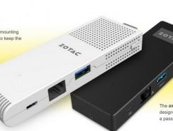 Zotac – полноценный компьютер размером с брелок