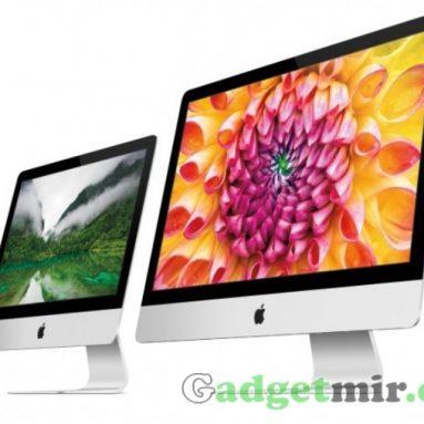 OS X Yosemite указывает на Retina дисплей в мониторах iMac