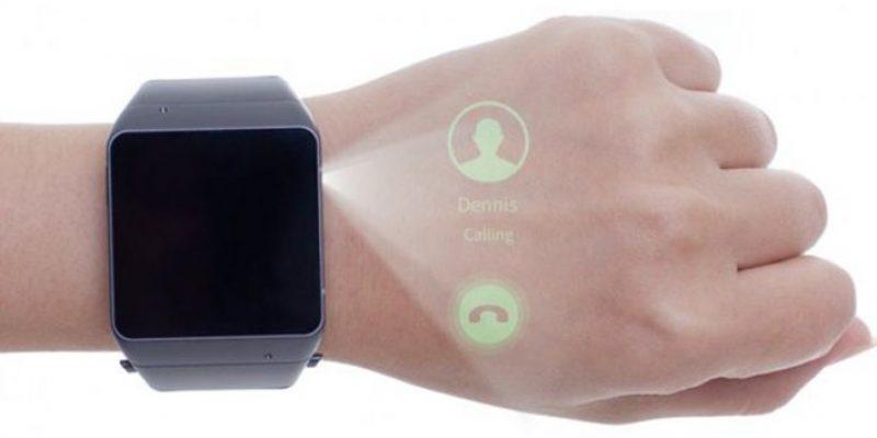 Cast One SmartWatch: лазерный проектор на запястье