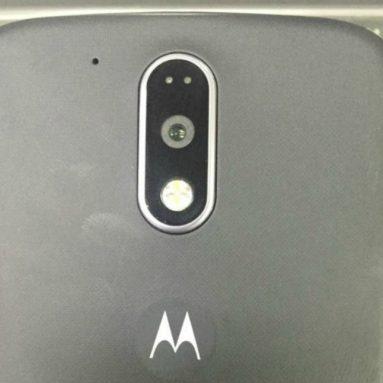 Два «живых» изображения смартфона Moto G4 [утечка]