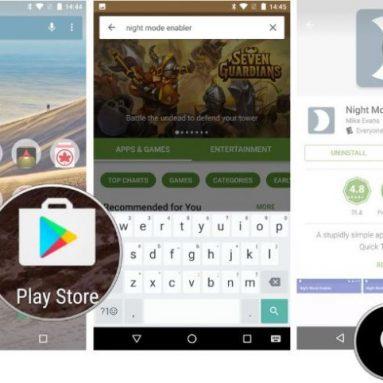 Как включить Night Mode на Nexus (Android 7.0 Nougat)