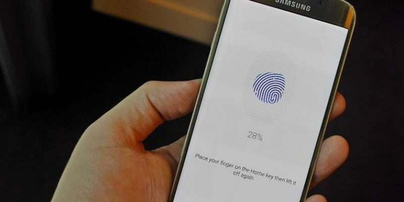 В скором времени Samsung начнет производить собственные сканеры отпечатка пальца