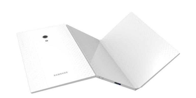 Компания Samsung собирается выпустить складной планшет