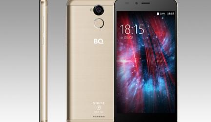 Смартфон BQ-5510 Strike Power Max 4G: для тех, кому важен долгий заряд