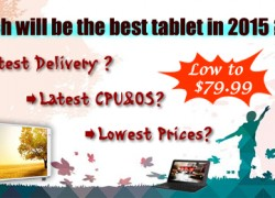 Акционные предложения по китайских планшетах. Цена от $94.92