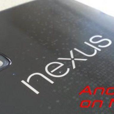 Nexus 4 неофициально обновили до Android L 5.0. Видео