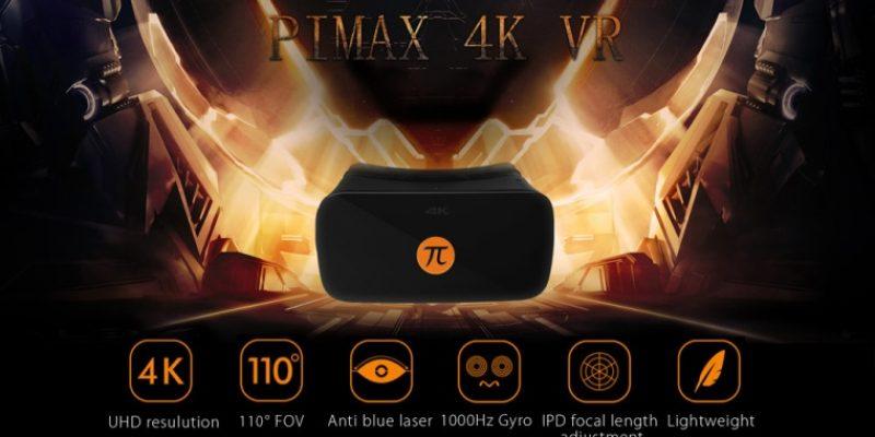 Очки виртуальной реальности от PIMAX с 4K UHD изображением и 3D-эффектом